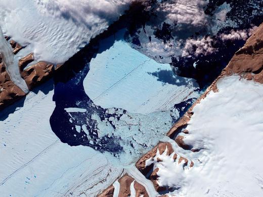 TudományGlobálisKlímaváltozás - Petermann-gleccser-leszakadása-2012júl16