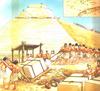 Piramisépítés, rekonstrukció