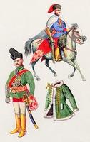 Kuruc lovas és tiszt (1703-1711)