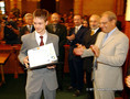 15. EU Fiatal Tudósok Verseny díjkiosztása