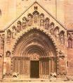 A jáki templom bejárata