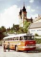 Ikarus 55-ös autóbusz a Tihanyban