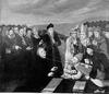 Egykorú gúnykép Luther és a pápa vitájáról