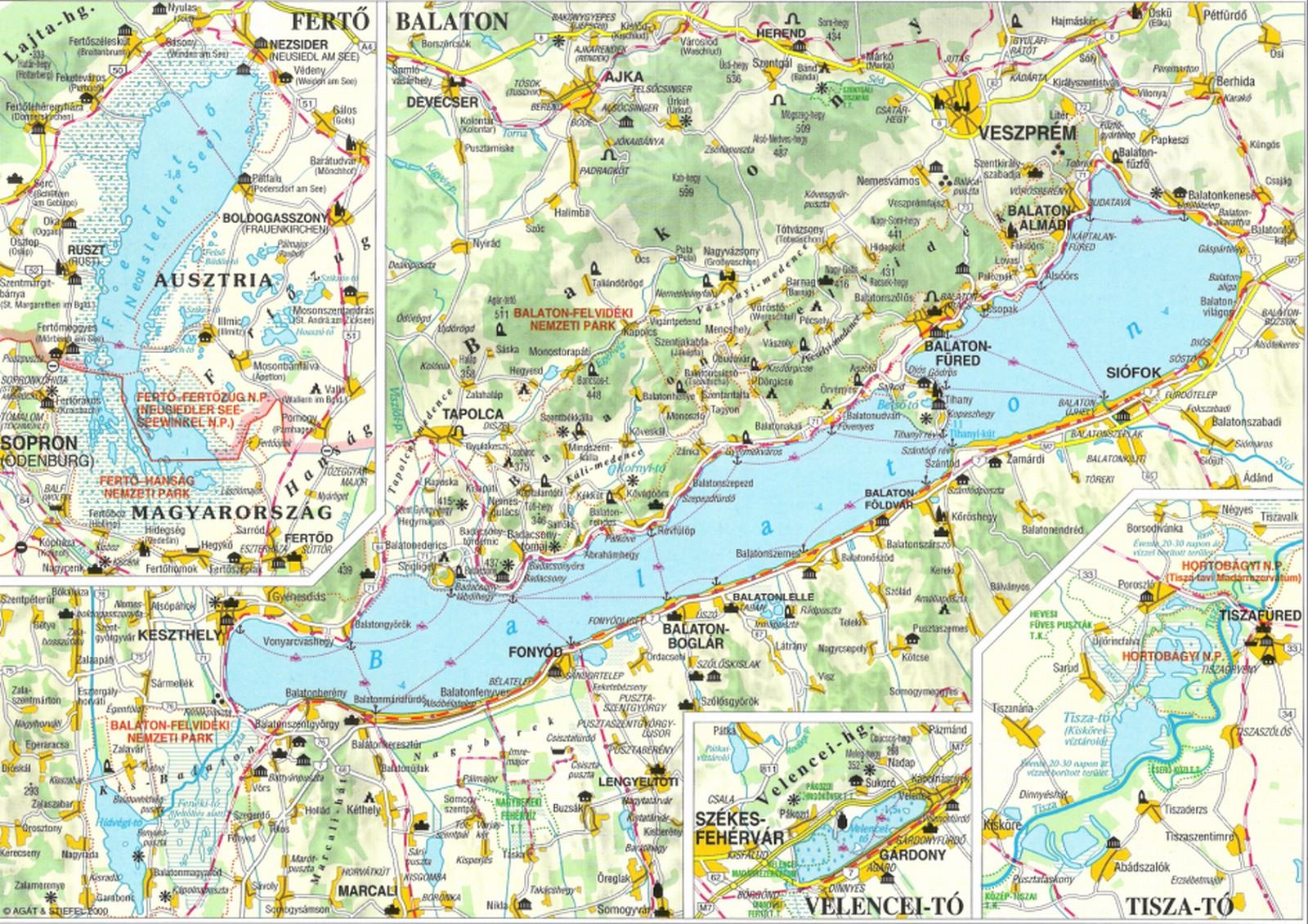 magyarország térkép velencei tó Közlekedési földrajz | SuliTudásbázis magyarország térkép velencei tó