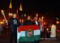 A Hatvannégy Vármegye Ifjúsági Mozgalom demonstrációja Szegeden