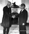 Külkapcsolatok - Hawlet John látogatása Budapesten
