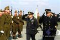 A NATO-zászló felvonása Kecskeméten