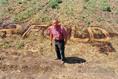 Tiltakozó gazdák Battonyán