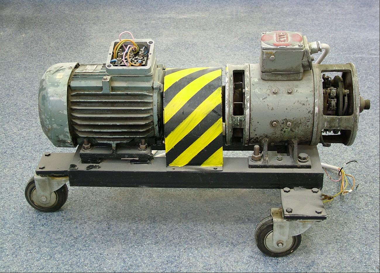 Állandó mágneses egyenáramú motor