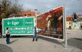 Óriásplakátok versenye Egerben