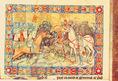 Képes Krónika: István király győzelmet arat Keán bolgár király felett