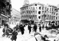 Katonák Budapest ostroma után