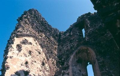 A taliándörögdi plébániatemplom szentélyének emelete