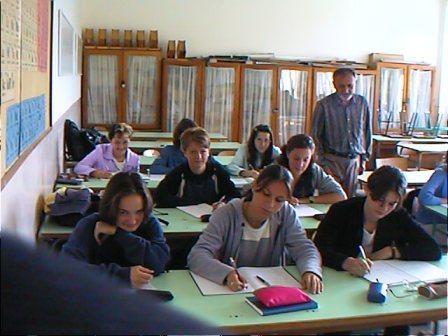 Az iskolai tanterem