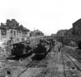 Vasúti romok a Déli és Nyugati pályaudvaron