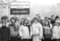 Március 15-e Budapesten a Bem-szobornál