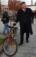 Kerékpárutat adtak át a belvárosban