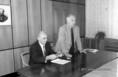 Művelődési Minisztérium és a Soros alapítvány szerződéskötése