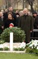 József Attila új síremlékének avatása