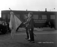 A XII. páncélvonat a debreceni állomáson