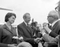 Dr. Kurt Waldheim, az ENSZ főtitkára Budapestre érkezett
