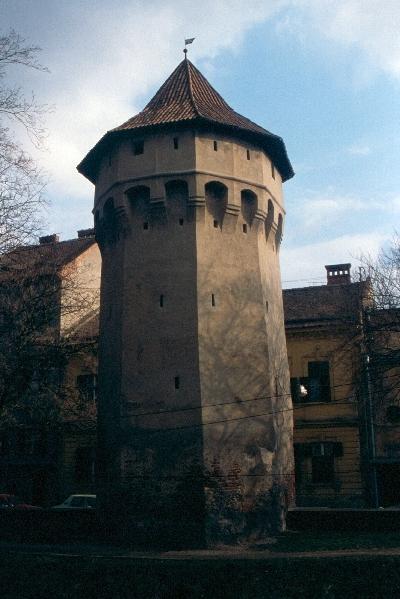 A nagyszebeni városfal tornya
