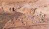 """Légifelvétel a Pueblo Bonito, vagyis """"csinos falu"""" romjairól"""