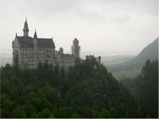 A neuschwansteini kastély