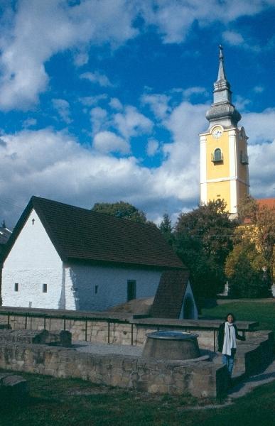 A pásztói iskolamester házának látképe