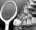 Teniszütők exportra