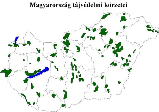 Magyarország tájvédelmi körzetei