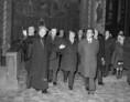 A bolgár párt- és kormányküldöttség tagjai budapesti városnézése