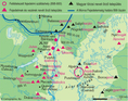 Fejedelmek és vezérek nevét őrző települések az államalapítás előtt