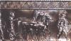 Spártai harcosok és harci szekereik. (Bronz váza, Kr.e. 6. század)