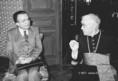 Giulio Andreotti és Lékai László találkozója