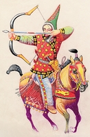 Ázsiai szkíta lovas (Kr. e. 200)