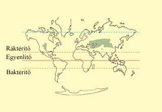 A füves puszták területei a Földön