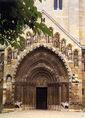 A jáki templom nyugati kapuja
