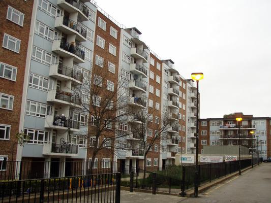 Lakótelep Londonban
