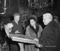 Tito elnök feleségének látogatása Szentendrén