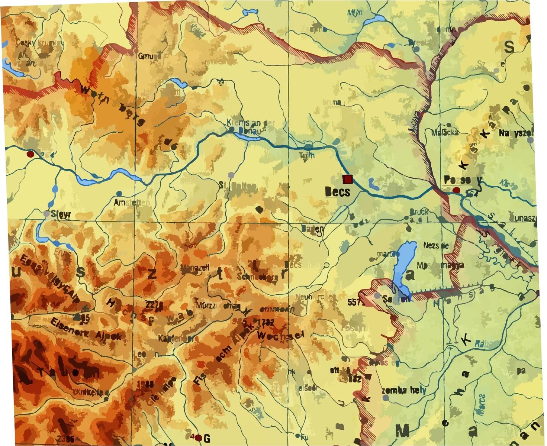 magassági térkép magyarország Ember a természetben   4. osztály | SuliTudásbázis magassági térkép magyarország