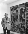 Victor Vasarely magyar származású francia festő