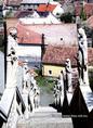 Soproni barokk lépcső