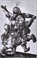 Albrecht Dürer: Táncoló földművespár