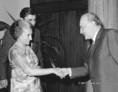 Indira Gandhi látogatása Kádár Jánosnál