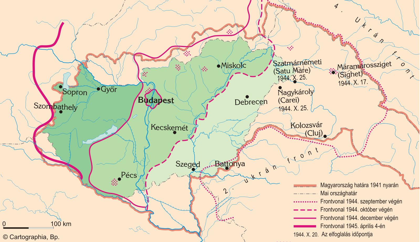 magyarország térkép 1944 Magyar történelmi térképtár | SuliTudásbázis magyarország térkép 1944