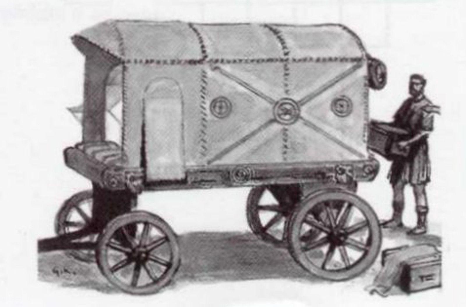 Szárazföldi közlekedés története