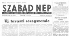 A sajtó és 1956