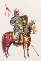 Középkori magyar lovag 1150