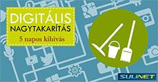 DIGITÁLIS NAGYTAKARÍTÁS – 5 napos kihívás